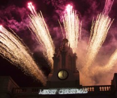 The BIG Lights Switch On and Christmas Fireworks