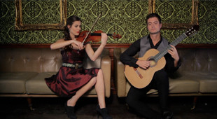 Duo Diez LIVE at the Chapel of Garioch