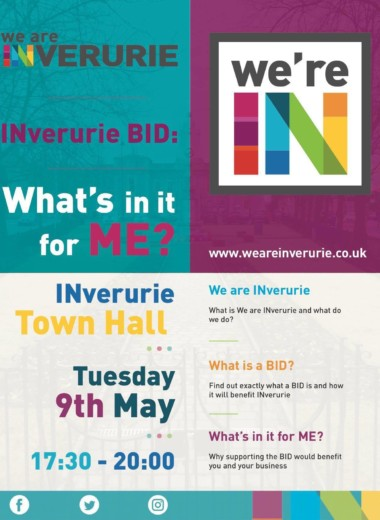 We are INverurie - Business Plan Launch