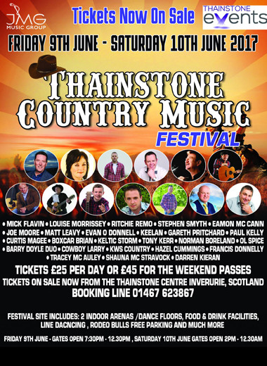 Thainstone Country Music Festival 2017