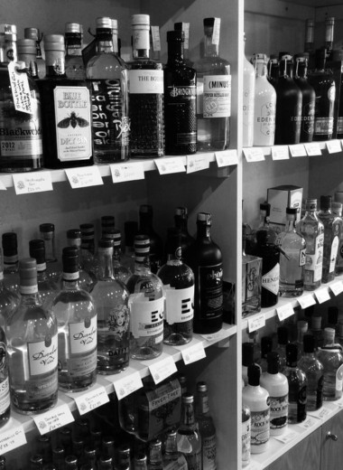 Gin Tasting at the Inverurie Whisky Shop