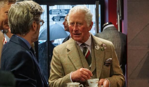HRH Prince Charles   INverurie